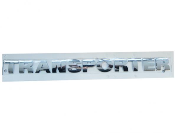 VW Transporter Schriftzug Chrom